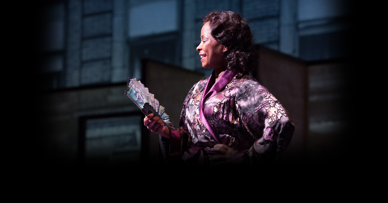 Crystal Fox in the 2015 production of Blues for an Alabama Sky. Photo by Jeff Roffman.