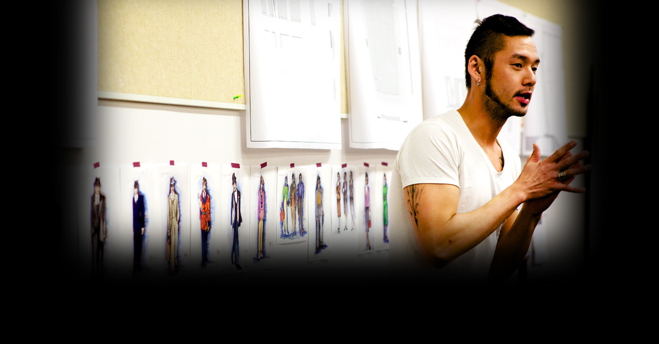 Lex Liang reviews costume designs for the 2015 production of Blues for an Alabama Sky.