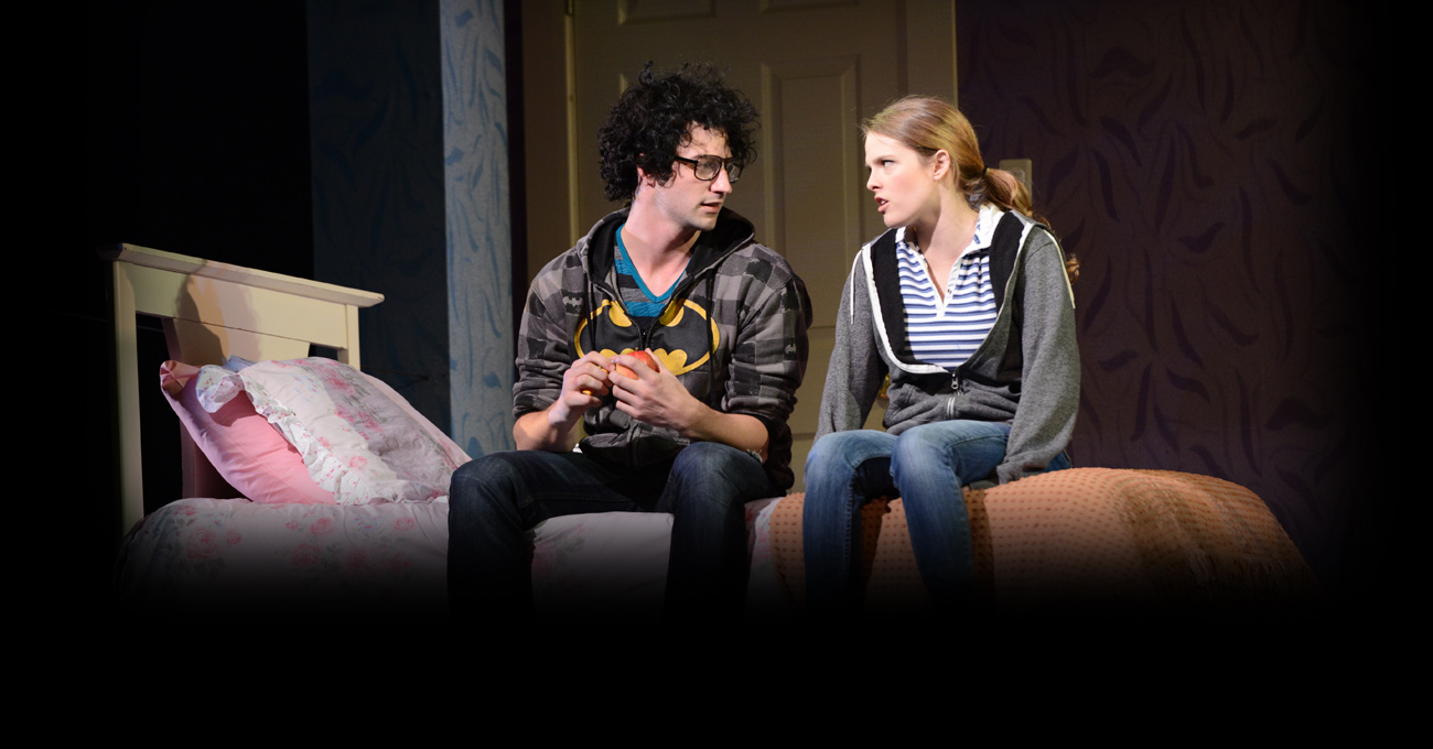Jordan Craig and Lyndsay Ricketson in the 2012 production of Next to Normal. Photo by Greg Mooney.