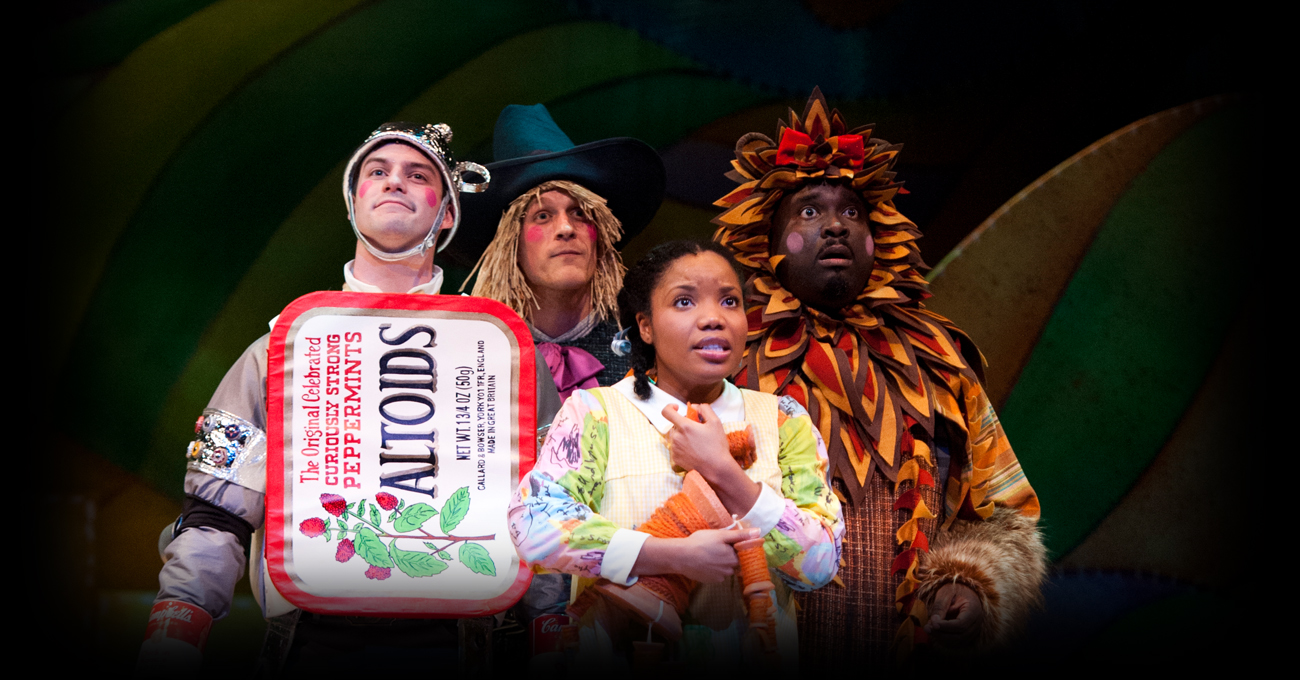 The cast of the 2012 production of The Wizard of Oz. Photo by Greg Mooney.