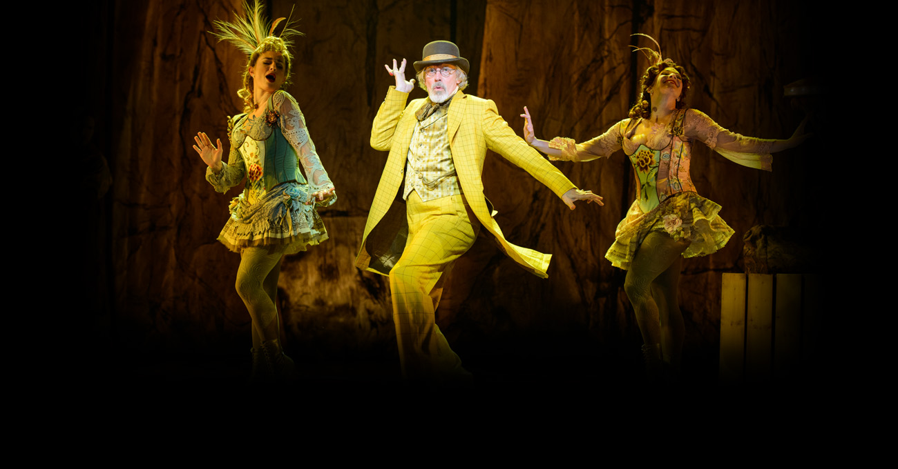 Jessica Lee Goldyn, Terrence Mann, and Lisa Gadja in the 2015 world premiere of Tuck Everlasting. Photo by Greg Mooney.