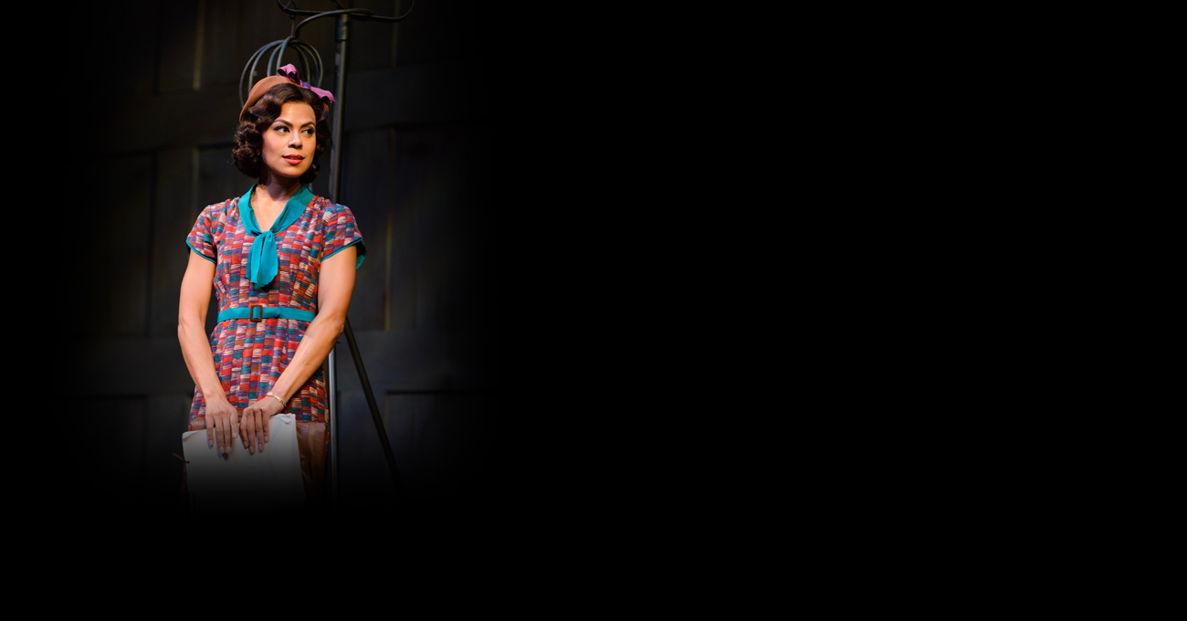 Toni Trucks in the 2013 production of By the Way, Meet Vera Stark. Photo by Greg Mooney.