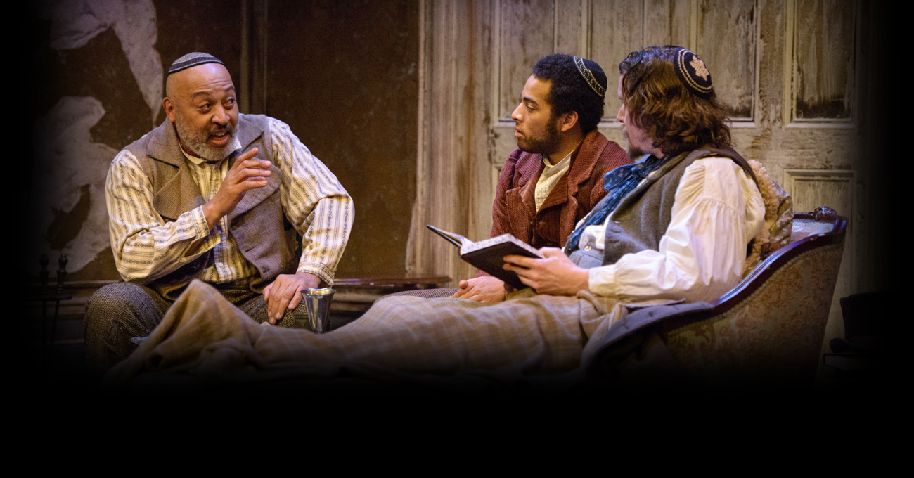 Keith Randolph Smith, John Stewart, and Jeremy Aggers in the 2013 production of The Whipping Man. Photo by Greg Mooney.