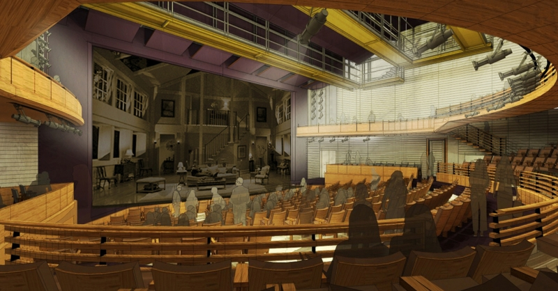 Conceptual design of the Alliance Stage